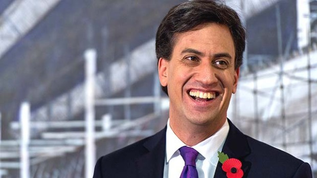 Labour Leader Ed Miliband Campaigns Before The Rochester And Strood By-Election