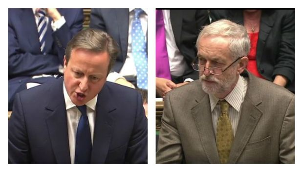 Jeremy-Corbyn-and-David-Cameron-at-PMQs