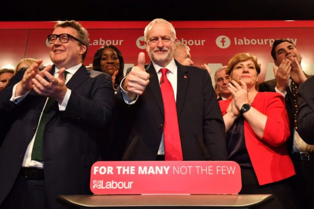 Jeremy Corbyn Launches The Labour Party's General Election Campaign
